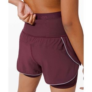 NWT Lululemon Fast and Free 2in1 Short Elite